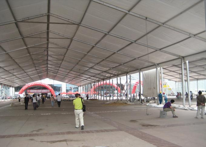 Customized Size Modular Large Canopy Event Tent For Trade Show / Outdoor Exhibition