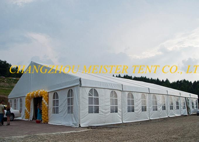 1000 Seaters Canopy Outdoor Event Tent with Double White PVC cover