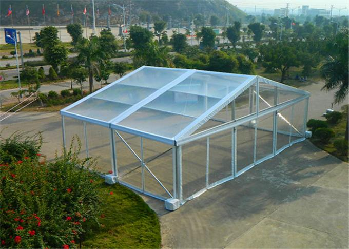 Big Outdoor Luxury Wedding Party Tent / Clear Marquee Tent 3-50m Width
