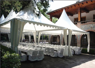 China Aluminum Structure Material Pagoda Party Tent Multi Functional Square Shape factory
