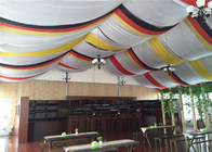 Well Decorated Marquee Outdoor Event Tent , Backyard Tent Wedding Reception