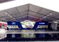China Long Span Life Large Capacity Trade Show Tents , Durable Air Conditioned Exhibition Tent company
