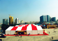 Clear Span Custom Made Trade Show Displays Tents , Outdoor Trade Show Display Tents