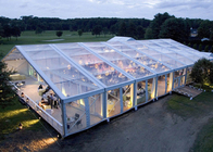 Clear Roof Canopy Event Tent With Sidewalls , Fire Retardant Outdoor Party Tents