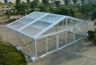 China Aluminum Structure Material Luxury Clear Top Wedding Tent Waterproof Windproof factory