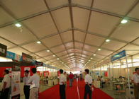 China Fire Resistant Auto Trade Show Tents Displays Durable PVC Coating Fabric factory
