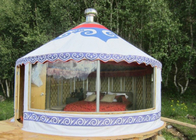 China Luxury Weather Proof Mongolian Yurt Tent For Resort / Banquet / Restaurant factory