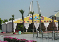 China 500 People 10 X 20 Outdoor Canopy Party Tent With Sidewalls For Different Activities factory