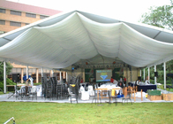 China Clear Span 100 - 200 People Outdoor Event Tent Movable Aluminum Frame Material factory
