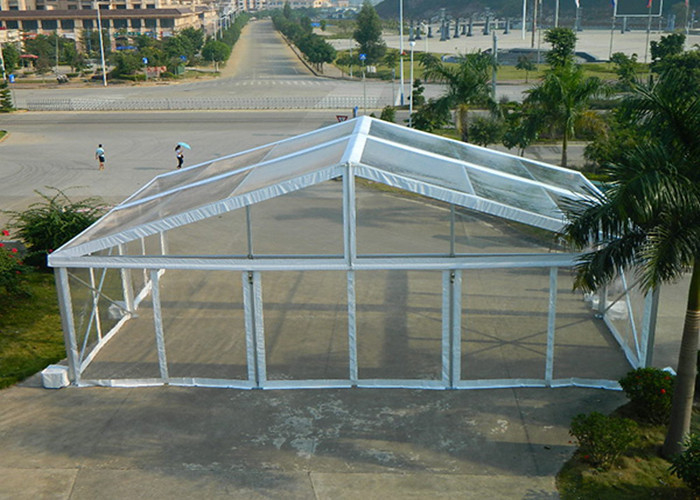 Transparent Color Clear Roof Tent For Outdoor Wedding Party / Exhibition / Church