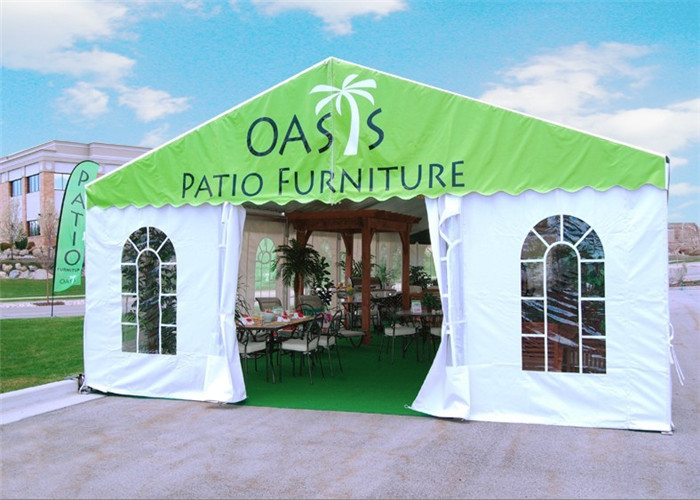 Multi Functional Wedding Ceremony Party Tents Well Decorated Fire Resistant