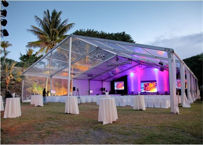 15x30m 500 Seaters Luxury Beautiful Wedding Party Tent Steel Frame Material