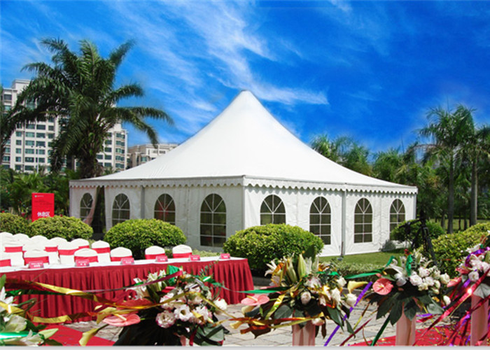 Large Pagoda Commercial Grade Party Tents Steel Sturcture Material