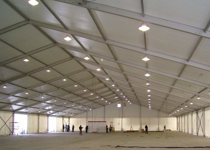 300 Seaters Outdoor Trade Show Tents For Machinery Exhibition / Auto Show