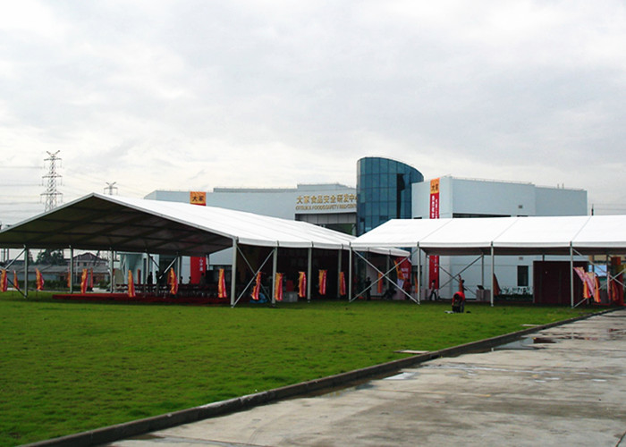 Aluminum Frame Roof Top White Marquee Tent Pvc Coating Easy To Assemble