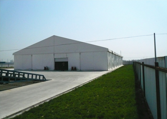 China Heavy Duty Clear White Wedding Marquee Tent With Air Conditioner Sun Proof factory