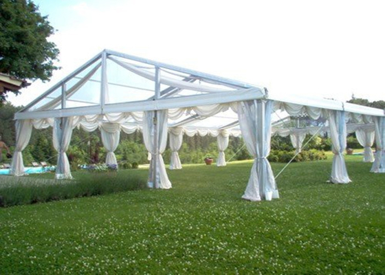 China Fire Retardant Beautiful Marquee Party Tent , New Design Clear Wedding Marquee factory