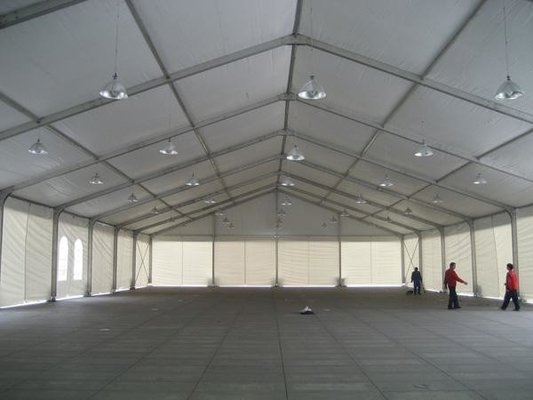 China Durable Sun Proof Industrial Warehouse Tent Large Aluminum Frame Structural factory