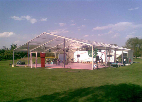 China Flame Resistant Easy Assemble Clear Roof Tent For Exhibition / Trade Show factory