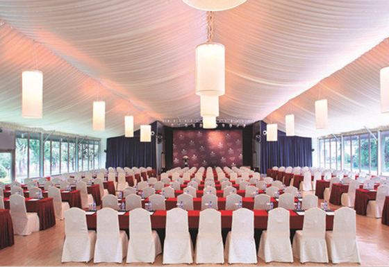 China Outdoor Temporary Commercial Conference Party Tents Aluminum Frame Structure factory