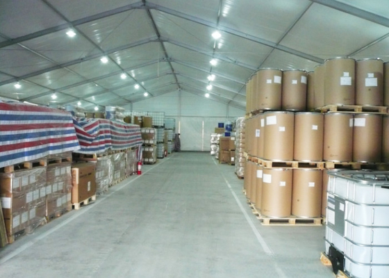 China Pvc Fabric Cover Industrial Warehouse Tent , Temporary Industrial Tent Structures factory