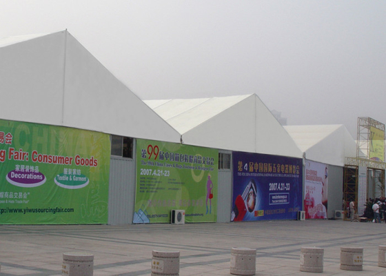 China Custom Size Trade Show Tents Temporary Removable Aluminum Frame Structure factory