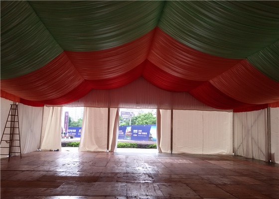 China 20x30m Wedding Banquet Marquee Enclosed Party Tent Luxury Fire Retardant factory