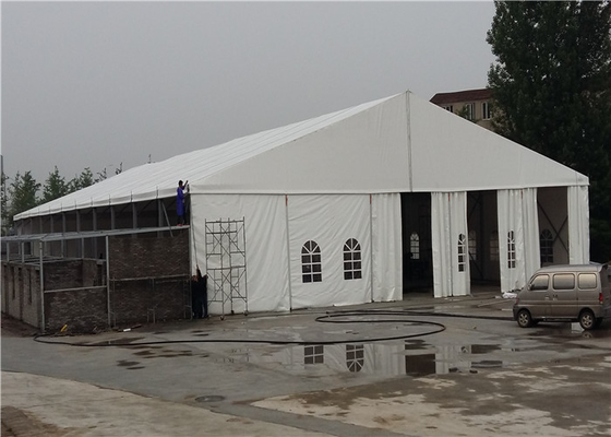 China Fashion Modern Clear White Outdoor Event Tent , Portable Event Canopy Tent factory