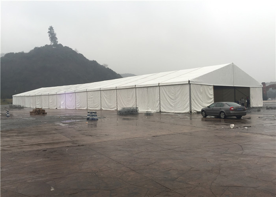 China 20x50m Temporary Outdoor Garage Warehouse Tent Portable Removable White Color factory