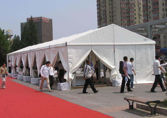 China CE Certificated 30m Temporary Outdoor Event Tent Clear Span Flame Resistant factory