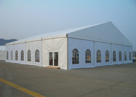 China Clear Span Marquee Party Tent With Windows For Wedding / Exhibition Ceremony factory