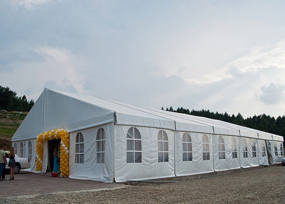 China 1000 Seaters Canopy Outdoor Event Tent with Double White PVC cover factory