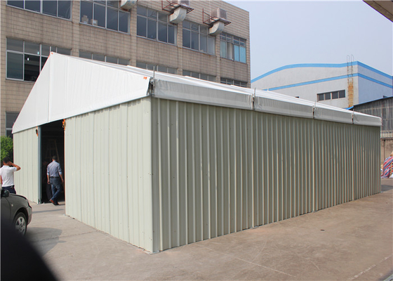 China Industrial Warehouse Tent Double Coated PVC Outdoor Storage Tent factory