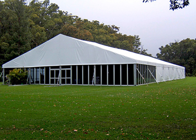 600 People Outdoor Clear Span Waterproof Tent For Backyard Party / Trade Show